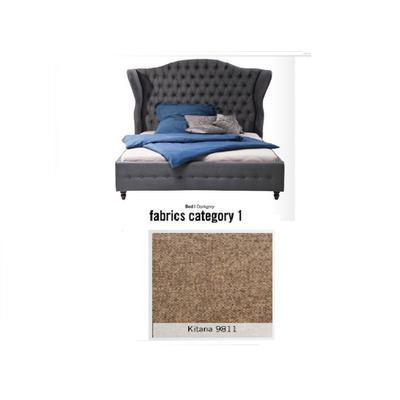 Cama City Spirit, tela 1 - Kitana 9811, (120x156x260cms), 180x200cm (no incluye colchón)