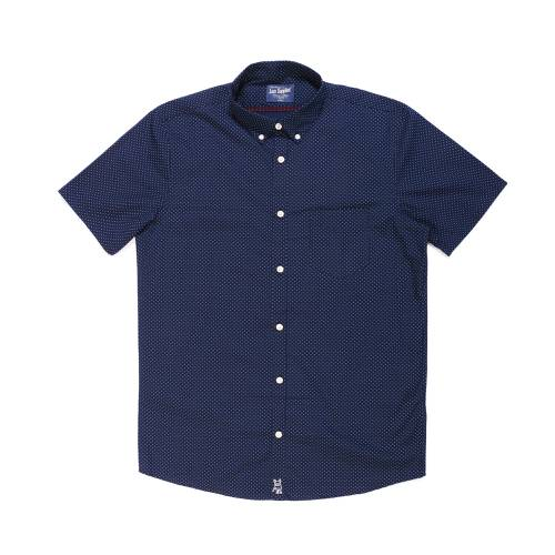 Camisa Manga Corta Greenport Jack Supplies Para Hombre - Azul
