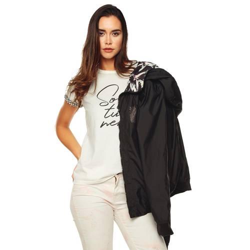 Camiseta Soy Tu Nene Rosé Pistol Para Mujer - Blanco