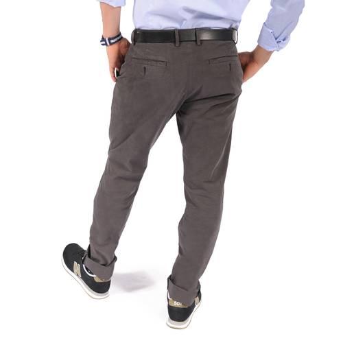 Pantalón Chelsea Color Siete para Hombre- Gris