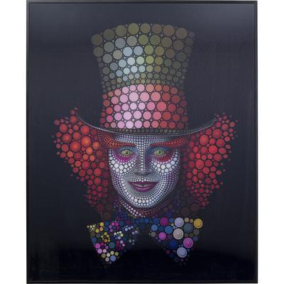 Cuadro 3D Crazy Hatter 70x57cm