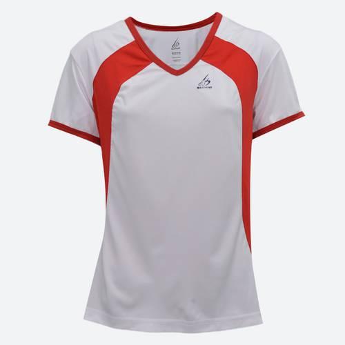 Camiseta Misky Blanco Rojo