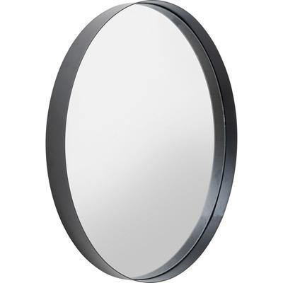 Espejo Ombra Soft negro 60Ø
