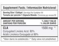 Pre-entreno HEALTHY SPORTS CLA 1500 miligramos CAPSULAS