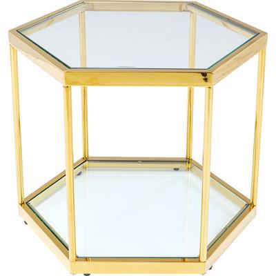 Mesa centro Comb oro 45cm