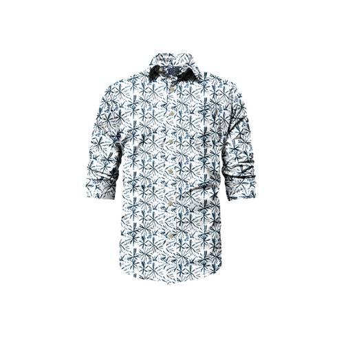 Camisa Manga Larga Riverside Rosé Pistol para Hombre - Blanco