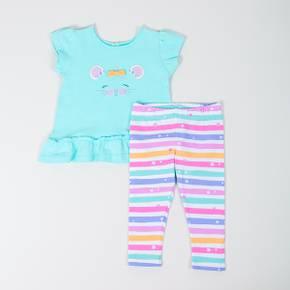 Conjunto leggings-camsieta manga corta Baby Girl