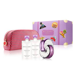 Bvlgari Estuche Omnia Amethyste edt 65ml + 2 Body Lotion + Pouch
