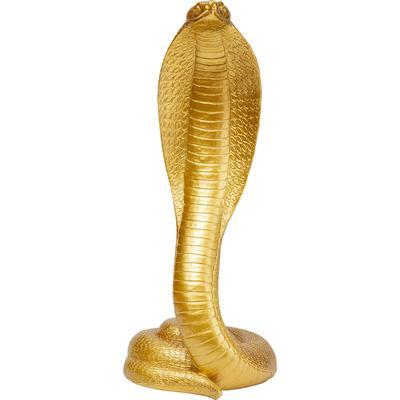 Objeto decorativo Snake oro