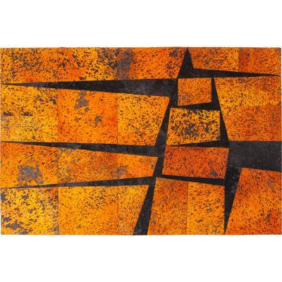 Alfombra Blocks naranja 240x170cm