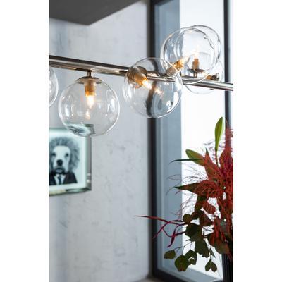 Lámpara Scala Balls cromo 150cm