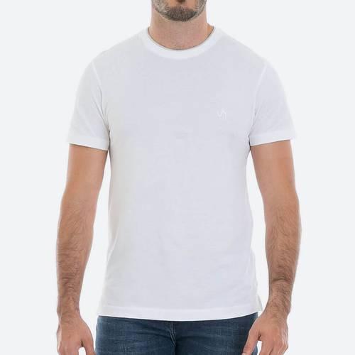 Camiseta Semifitted Vmss190002 Blanco