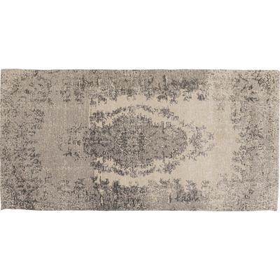 Alfombra Vintage gris 80x150cm