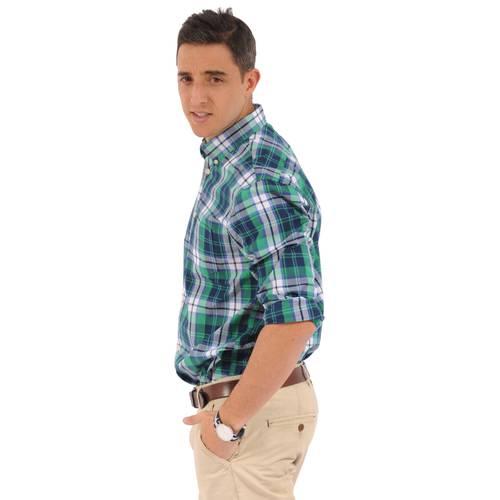 Camisa Manga Larga Wainscott Jack Supplies Para Hombre - Verde