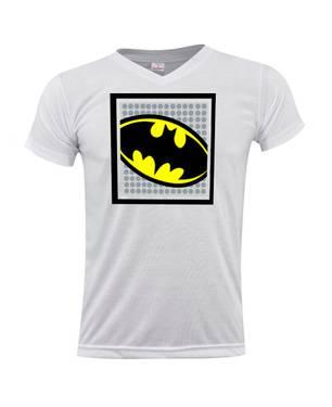 Camiseta Cuello V Batman Shield 0266 - ART GENERATION