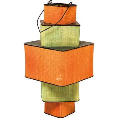 Farol Bamboo Step Square 79cm