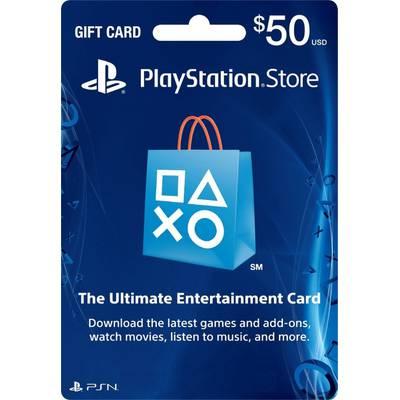 Tarjeta Prepago PSN 50 USD