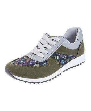 Zapatos Urban Green Sneakers 0109-M Verde - LUSOLE