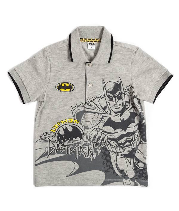 Camiseta Polo Niño Batman