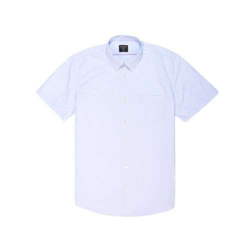 Camisa Thompson Manga Corta - Azul