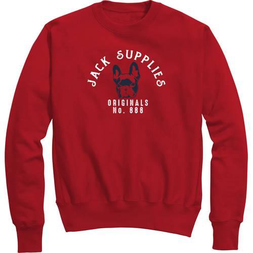 Sueter Jack Supplies para Hombre  - Rojo