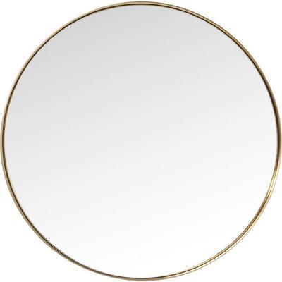 Espejo Curve redondo Brass Ø100cm