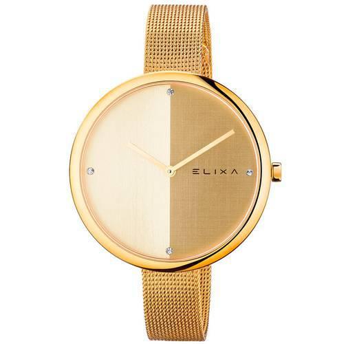 Reloj Beauty Dorado/Plateado 6-L425  - ELIXA