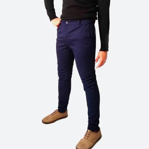 Pantalón en Dril Azul