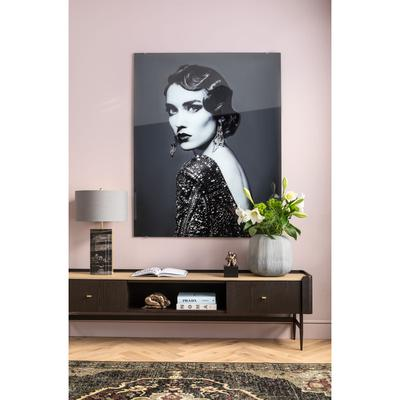 Cuadro cristal Beauty Lady 150x120cm
