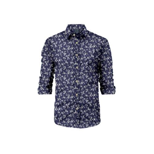 Camisa Manga Larga La Jolla Rosé Pistol para Hombre - Azul
