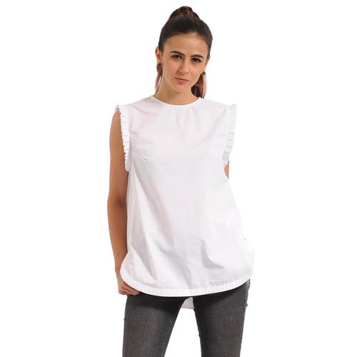 Blusa Darcy Color Siete Para Mujer - Blanco