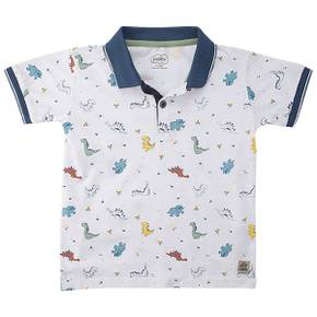 Camiseta Polo Little Boy Mountain