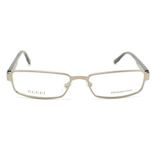 Gafas Oftálmicas Gucci Gris Mate