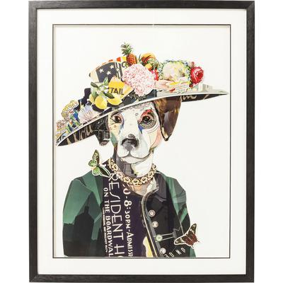 Cuadro Art Lady Dog 90x72cm