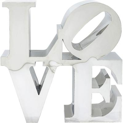 Objeto decorativo LOVE acero inox 100 x 100