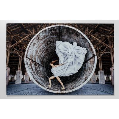Cuadro cristal Time Traveller 120x180cm