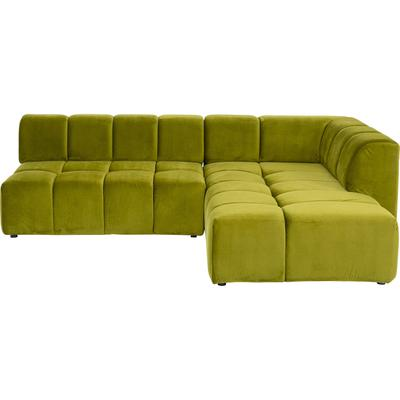 Sofá esq. Belami verde dcha