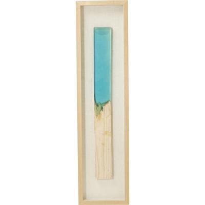 Cuadro Match azul 120x30cm