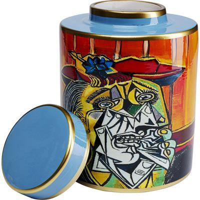 Vasija decorativa Graffiti Art 27cm