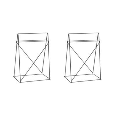 Caballetes Polar (Paar) negro 31x49cm