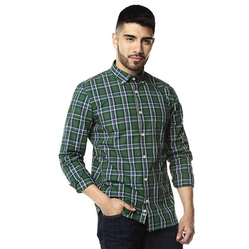 Camisa Manga Larga Rose Pistol para Hombre-Verde