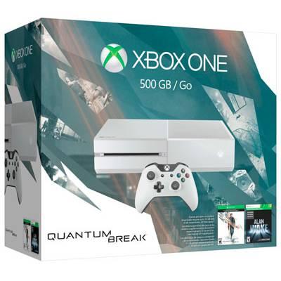 Xbox One 500GB Blanca Edicion Quantum Break