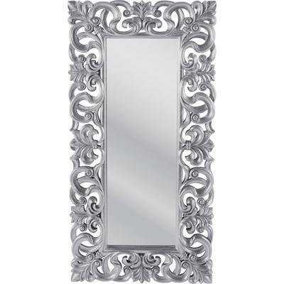 Espejo Italian Baroque plata 180x90