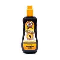Spray Oil Sunscreen Amplio Espectro SPF 4 Aceite Resistente Al Agua Con Formula De Zanahoria 237ml