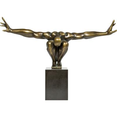 Objeto decorativo Athlet bronce