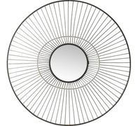 Espejo Filo negro Ø77cm