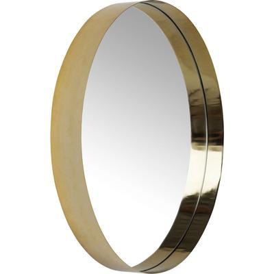 Espejo Luna dorado Ø61cm