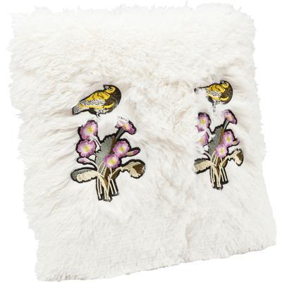 Cojines Fur Birds Flower 40x40cm