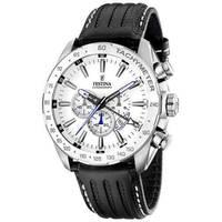 Reloj analógico blanco-negro 89-1