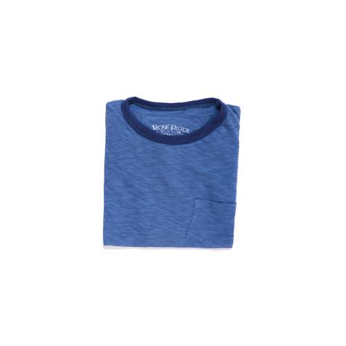 Camiseta Rose Pistol para Hombre - Azul